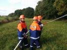 2014-09-27 Waldbrand-Übung - Brandschutzwoche